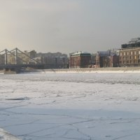 Москва-река. Январь. :: Маера Урусова