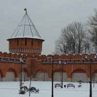 Тульский кремль- Ивановская башня XVI век. :: Людмила Ларина