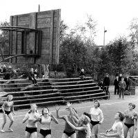 """Архангельск. Стадион """"Динамо"""", 1963. Наши школьные соревнования (2) :: Владимир Шибинский"""
