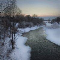 Морозный вечер на Сиве.. :: Алексей Макшаков