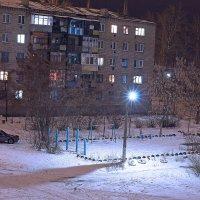 Ночь, улица, фонарь... :: Олег