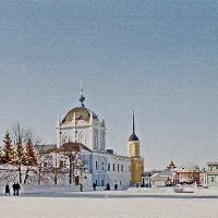 г. Коломна площадь в кремле :: Борис Александрович Яковлев