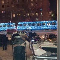 Новогодний трамвай ещё в пути - Старый Новый Год скоро! :: Galina194701