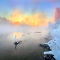 Рассветные костры двух солнц... :: Андрей Войцехов