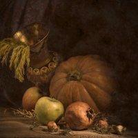 тыква и фрукты :: alexandr lin