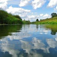 В реку смотрятся облака.... :: Святец Вячеслав