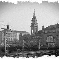 Центральный вокзал Гамбурга в ретро :: Nina Yudicheva
