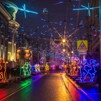 Танцующая улица :: Elena Ignatova
