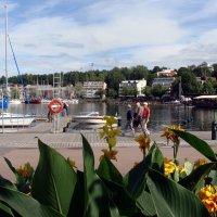 Маленький финский  городок на Сайме... :: Ирина Румянцева