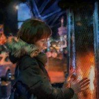 И грела руки у огня, и ни о чём смотрела сны :: Ирина Данилова
