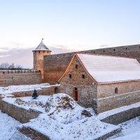 Крепость с новогодней елкой :: Виктор Орехов