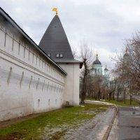Стены и башня Спасо-Андронникова монастыря :: Владимир Болдырев