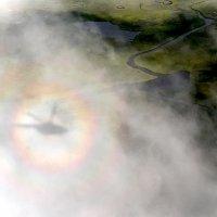 Тень на облаках :: Андрей И