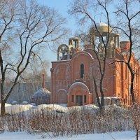 Строительство церкви :: Ольга Логачева