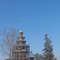 Торжок. Церковь Тихвинской иконы Божией Матери. :: Ирина Шурлапова