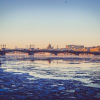 Благовещенский мост :: Евгения Назарова