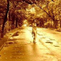 Дождливый август. Горький.1970 год :: alek48s