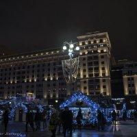 Площадь революции новогодняя :: Виктор М