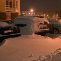 Мой дом ...и первый нормальный снег :: Александр Трофимов