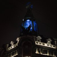 Дом книги ночью. :: Olga Kramoreva