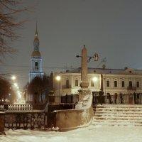 Ночной зимний город. :: Валерия заноска