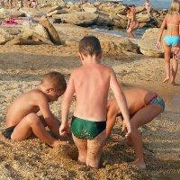 Замки из песка :: Виктор Шандыбин