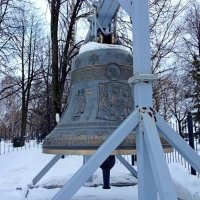 Колокол Успенского собора :: Tata Wolf
