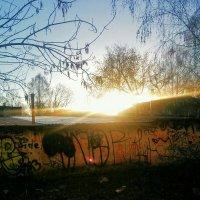 холодный рассвет :: Алексей Лукаев