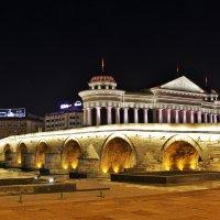 Вечерний Скопье :: Сергей Дабаев
