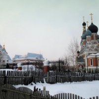Кафедральный собор в честь Преображения Господня — православный храм в Бердске, второй кафедральный :: Мила Бовкун