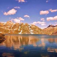 Горное Озеро.. :: Эдвард Фогель