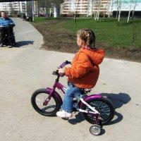 Такие разные велосипеды. :: Нина