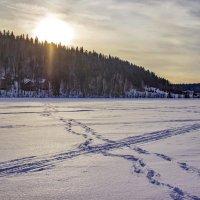 По зимней реке... :: Альмира Юсупова