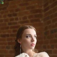 Лиза и пушистик. :: Евгения Лисина