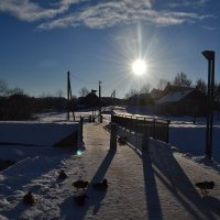 Мороз и солнце.. :: zoja