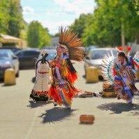 Индейская музыка в Гатчине :: Анастасия Белякова