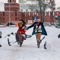 Аня и Саша, 5 лет вместе! :: Маргарита Комаровская