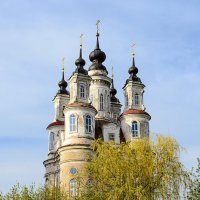 Космодемьянская церковь в Ямской слободе, в Калуге. :: Анатолий Сидоренков