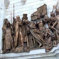 Барельеф Храма Христа Спасителя. :: Александр Качалин