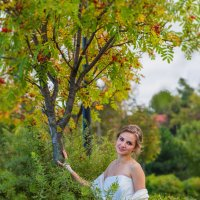 Осенняя свадьба :: Мария Корнилова