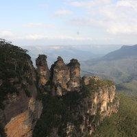 Три Сестры (Австралия) и Голубые горы :: Антонина