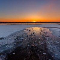 А утром кто-то купался... :: Павел Петрович Тодоров