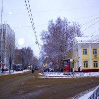 Первоснежные улицы.2015 :: Артём Бояринцев