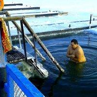 Крещенские купания на Оке 1. :: Борис Митрохин