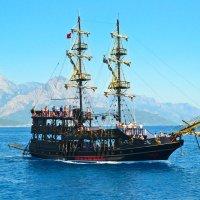 Пиратская яхта :: Ольга