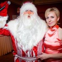 Рядом с Дедом Морозом. :: Подруга Подруга