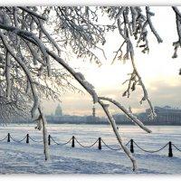 Заморозило закат... :: tipchik