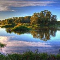 Вечер у реки :: Константин