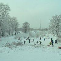 зимние забавы :: Михаил Жуковский