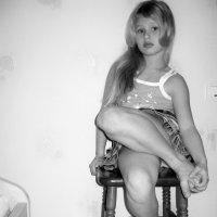 Устала позировать. :: Нина